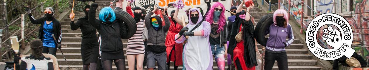 Queer-feminist resistance against G20 2017 in Hamburg